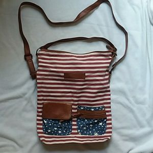 A star spangled satchel